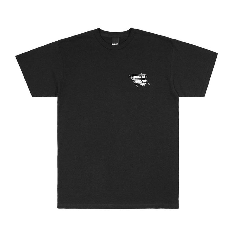 Only NY / PRINTERS T-SHIRT(Black)
