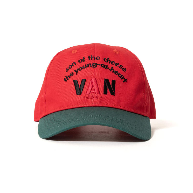 SON OF THE CHEESE / VAN CAP (RED)