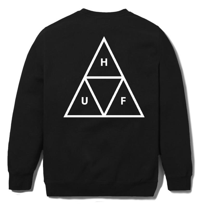 HUF / TRIPLE TRIANGLE CREW (BLACK)