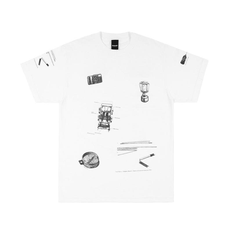 Only NY / OUTDOORS T-SHIRT(White)