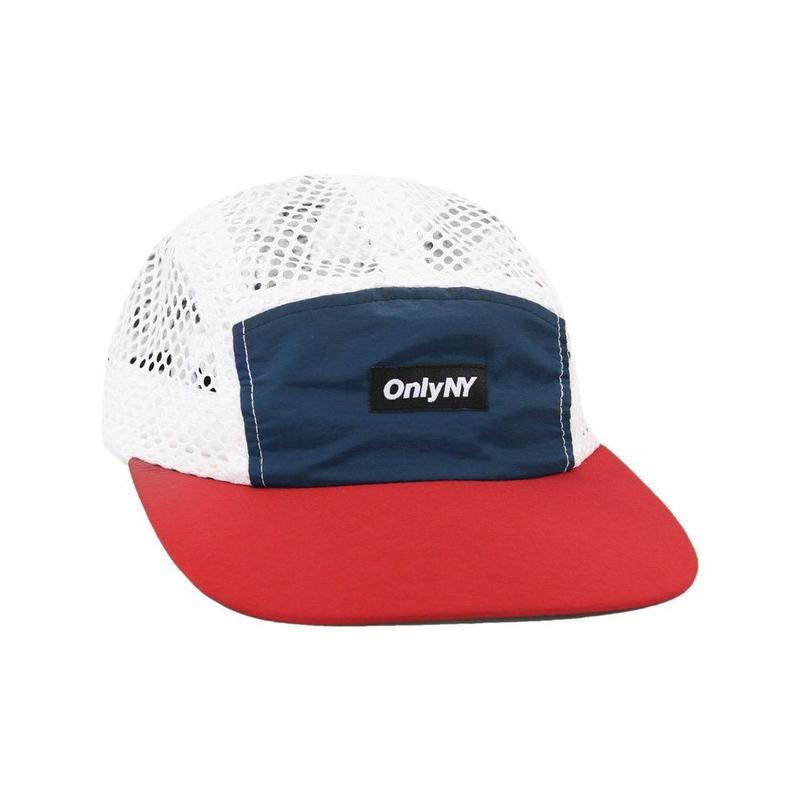 Only NY / MESH RUNNERS 5-PANEL (Navy/Red)