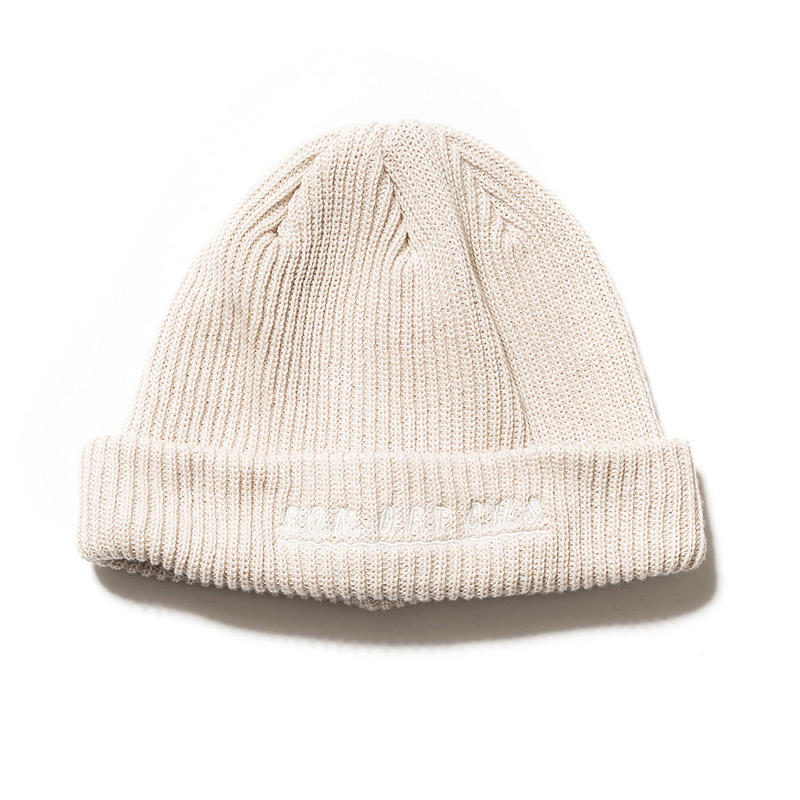 SON OF THE CHEESE / SOTC wave knit CAP(GRAY)