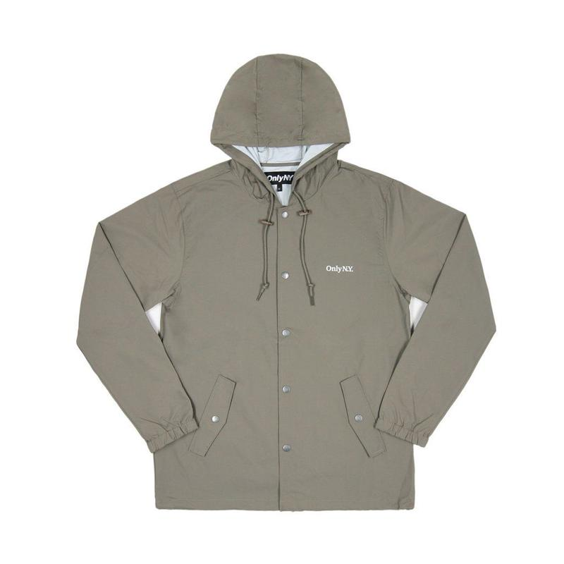 Only NY / Lodge Hooded Coach Jacket (Taupe)