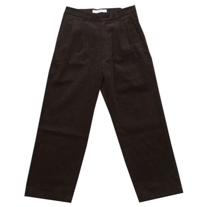DONTSUKI / CORDUROY PANTS (BROWN)