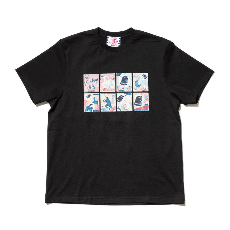 SON OF THE CHEESE / Fantom Wig TEE(BLACK)