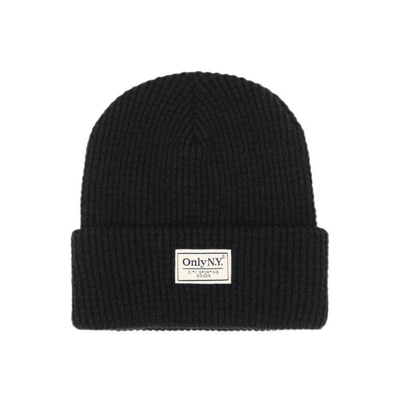 Only NY / Lodge Beanie (Black)