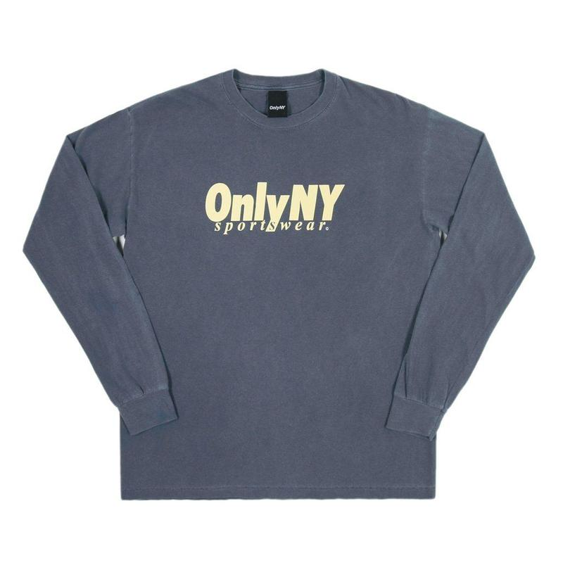 Only NY /Breakline Longsleeve T-Shirt (Vintage Blue)