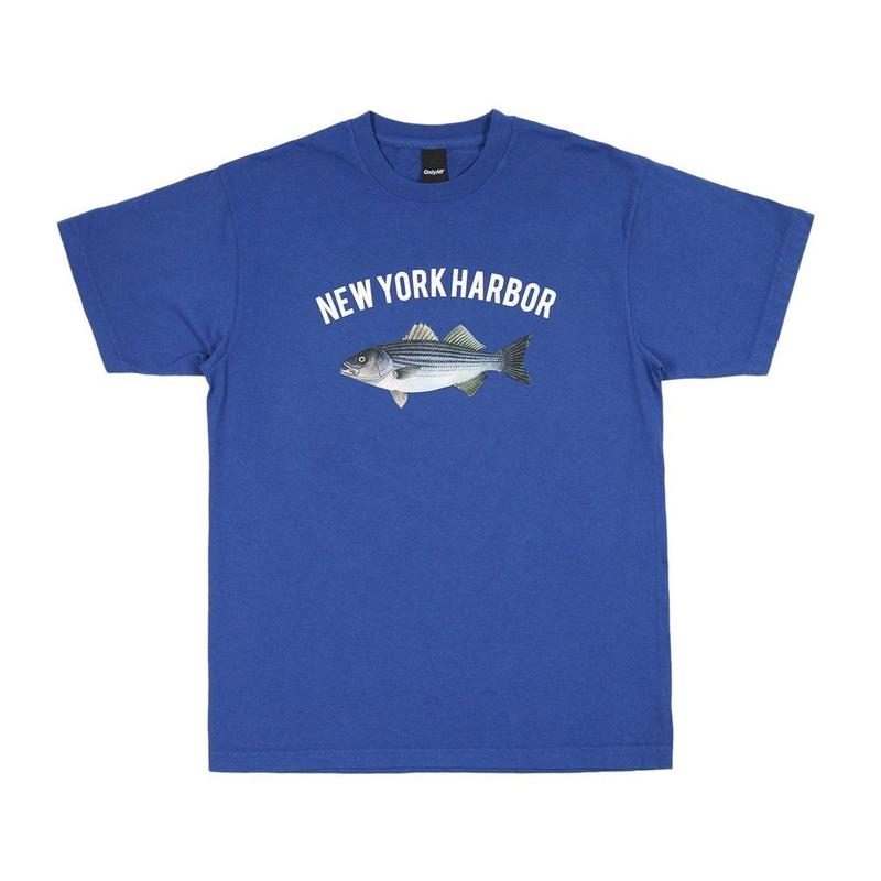 Only NY /  NEW YORK HARBOR T-SHIRT(Seaport Blue)