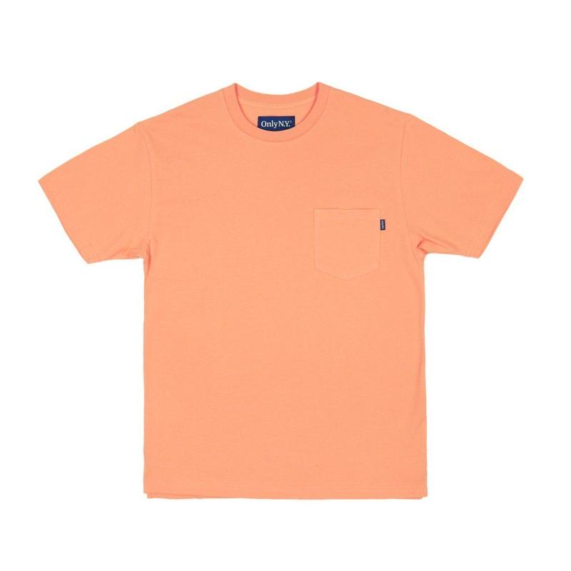 Only NY / Premium Cotton Pique T-Shirt (Mango)