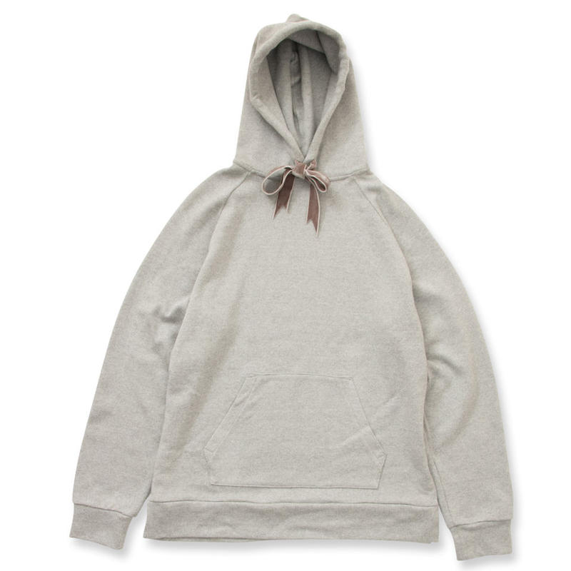 SON OF THE CHEESE / Ribbon Hoodie(GREY)
