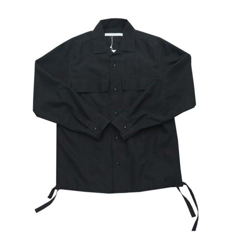 DONTSUKI / 2POCKET SHIRT (BLACK)