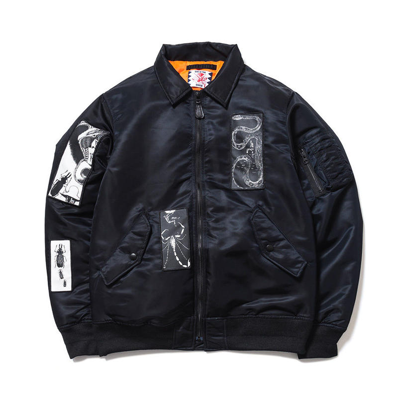 SON OF THE CHEESE / FACE MA-1 (BLACK)