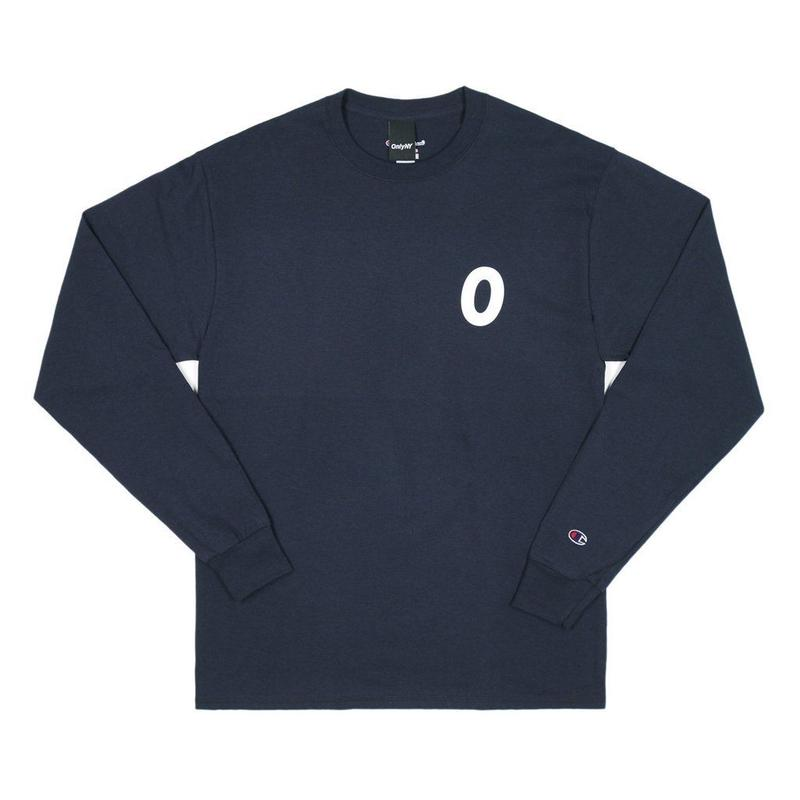 Only NY /Derby Champion L/S T-Shirt  (Navy)