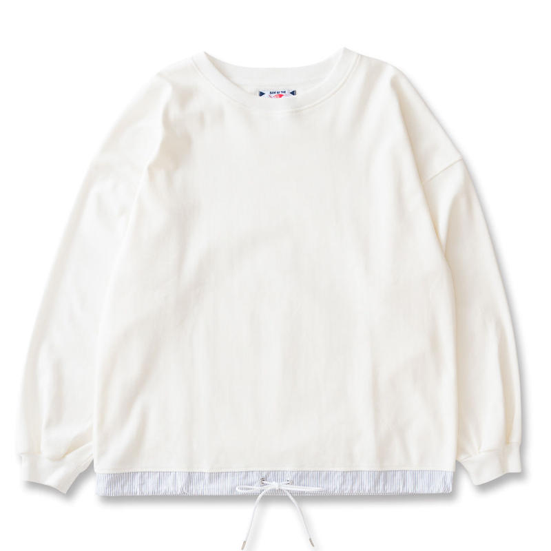 SON OF THE CHEESE / draw code LS tee (WHITE)