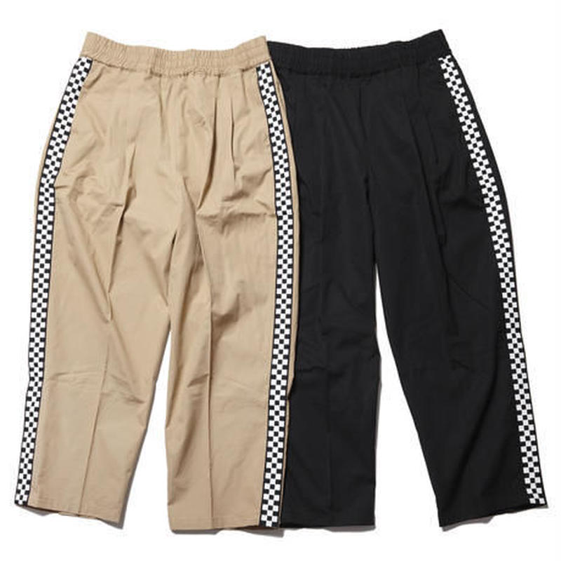 RUTSUBO / SIDE CHECKER EASY PANTS  (RUTSUBO×I&ME)