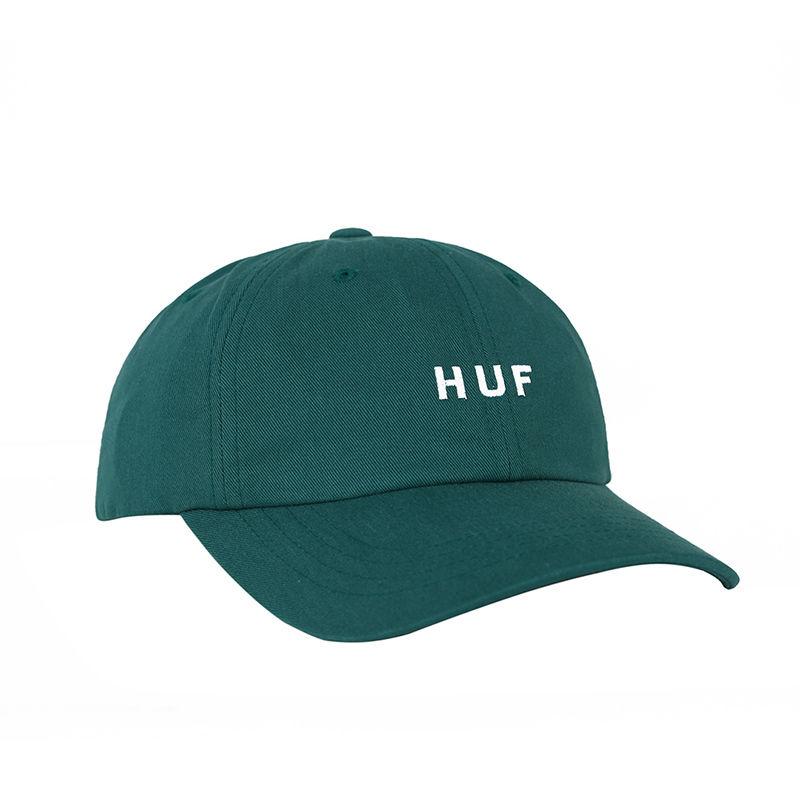 HUF / ESSENCIALS OG LOGO CURVED VISOR HAT(DEEP JUNGLE)