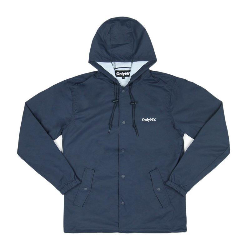 Only NY / Lodge Hooded Coach Jacket (Navy)