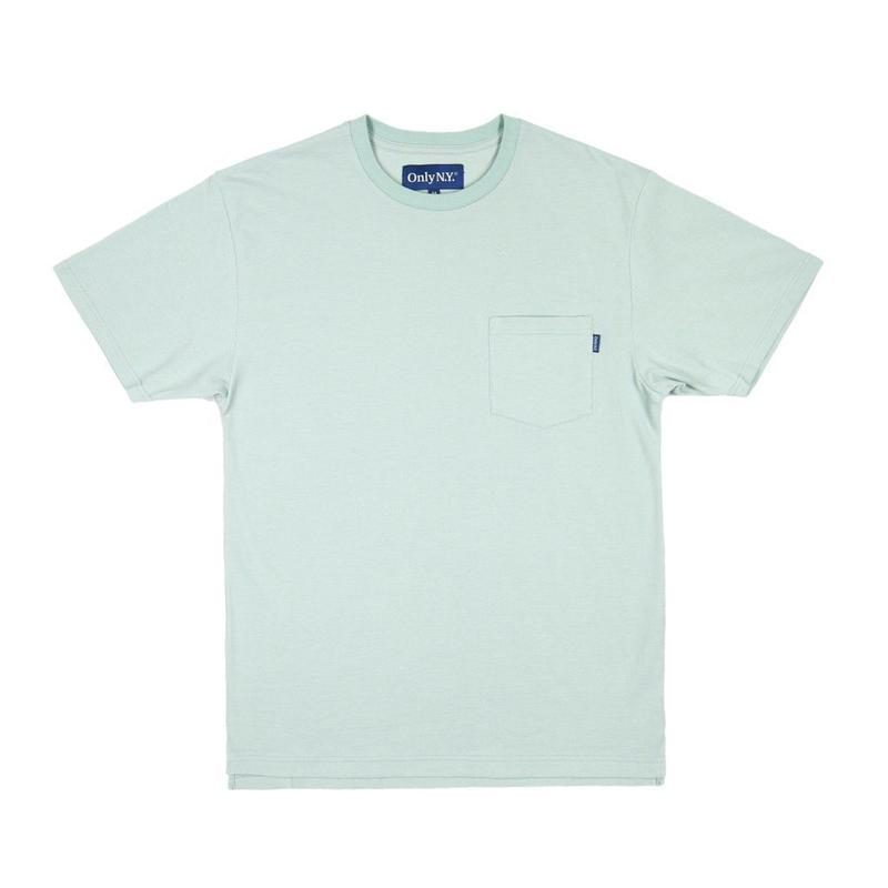 Only NY / Premium Cotton Pique T-Shirt (Pistachio)