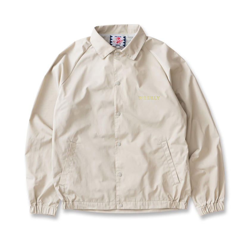 SON OF THE CHEESE / moon coach JKT (GRAY)