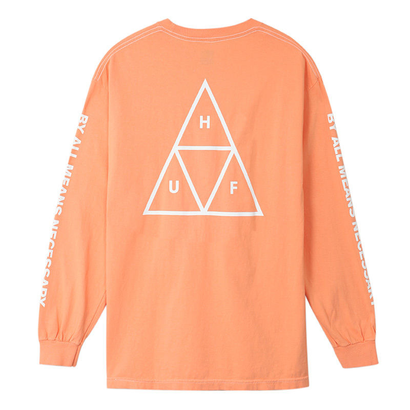 HUF  / ESSENTIALS TT L/S TEE (CANYON SUNSET)