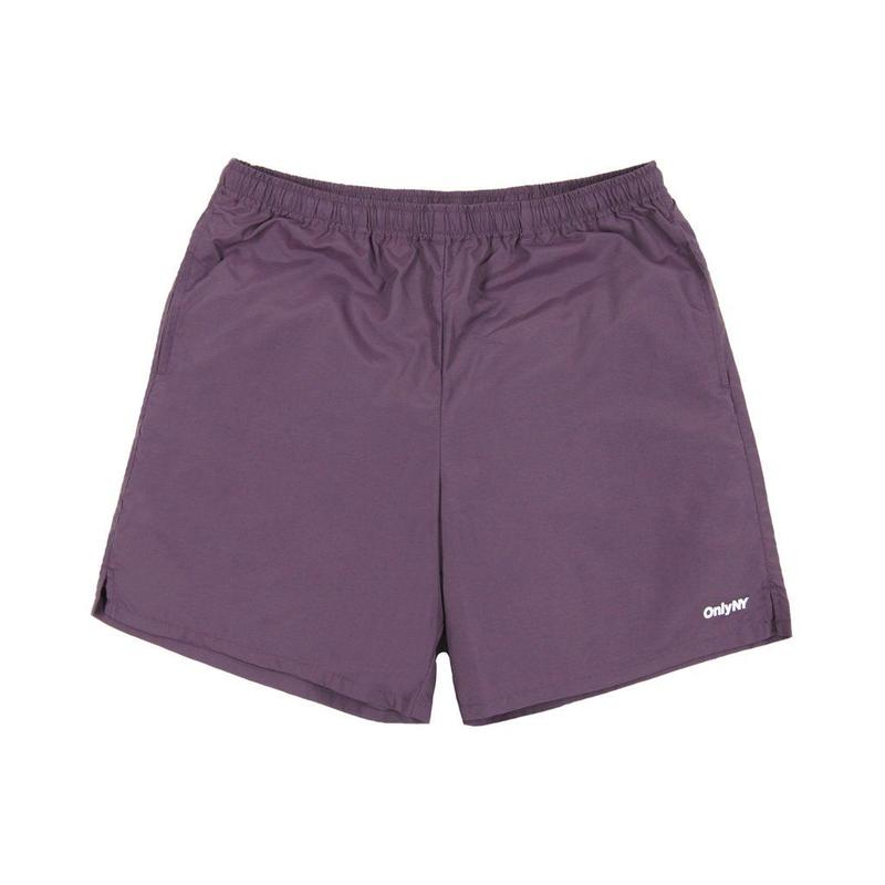 Only NY / Track Shorts(Plum)