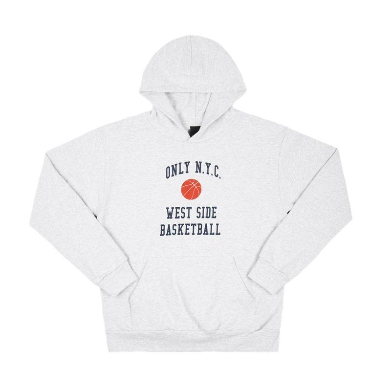 Only NY / West Side Basketball Hoody (Ash)
