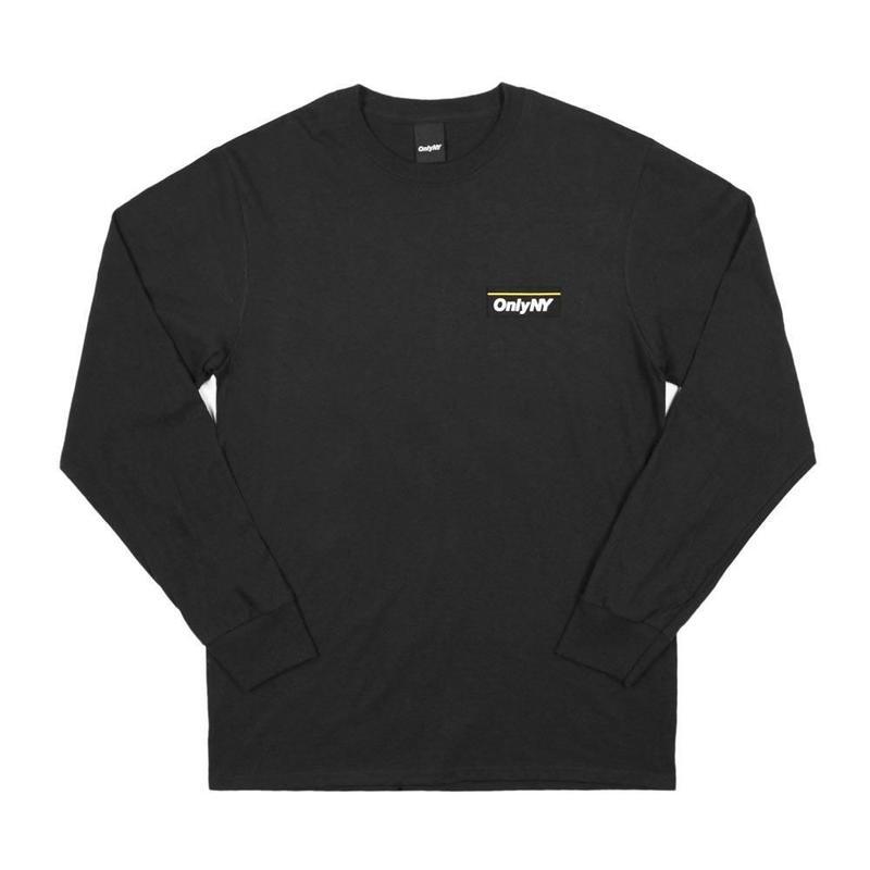 Only NY / Subway L/S T-Shirt (Black)