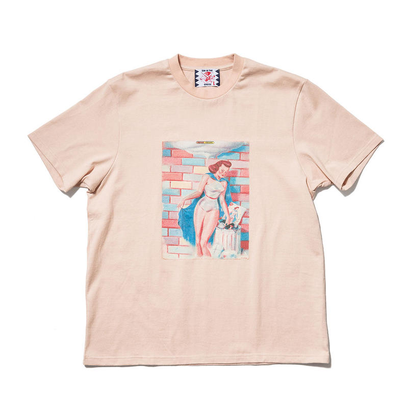 SON OF THE CHEESE / Success Moderne TEE(PINK)