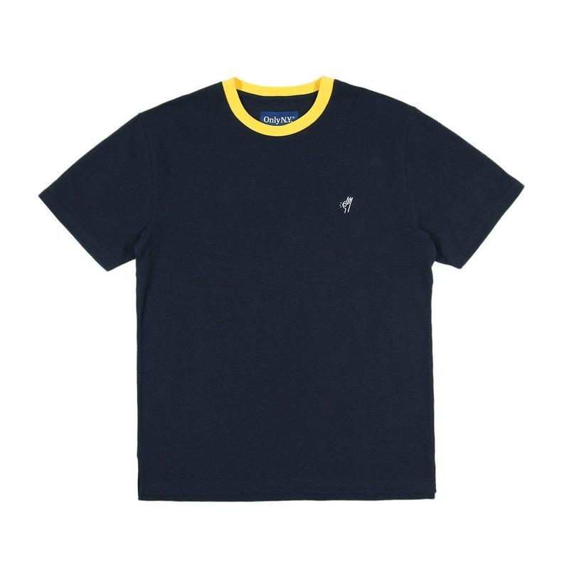 Only NY / OK PIQUE T-SHIRT(Navy)