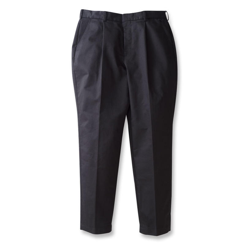 SON OF THE CHEESE / wide tack pants (BLACK)