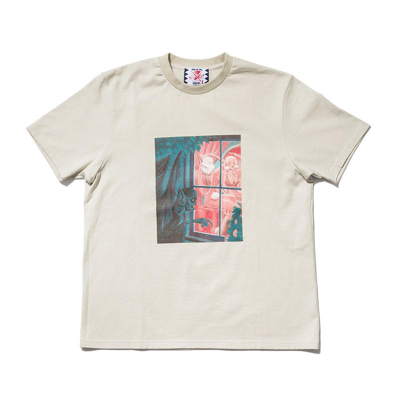 SON OF THE CHEESE / horror TEE(BEIGE)
