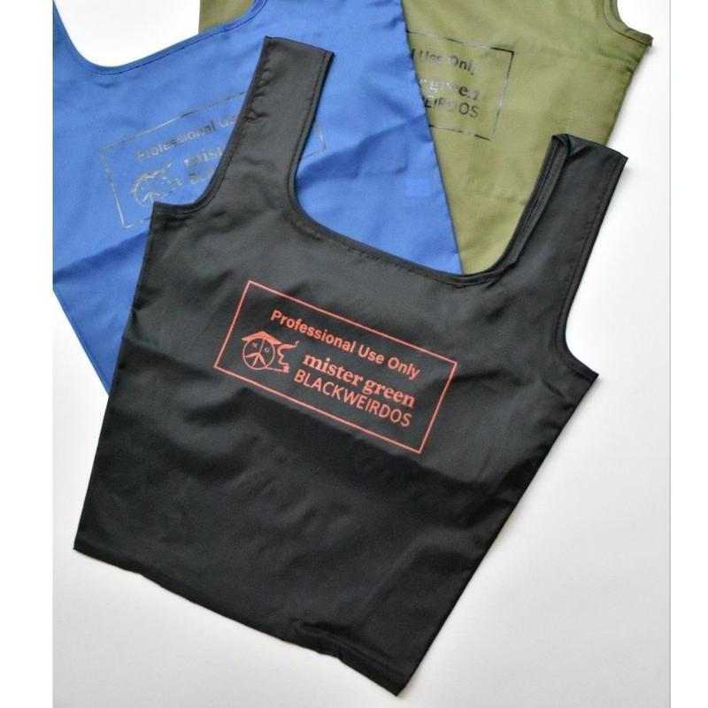 Black Weirdos / PACKABLE Shopping Bag