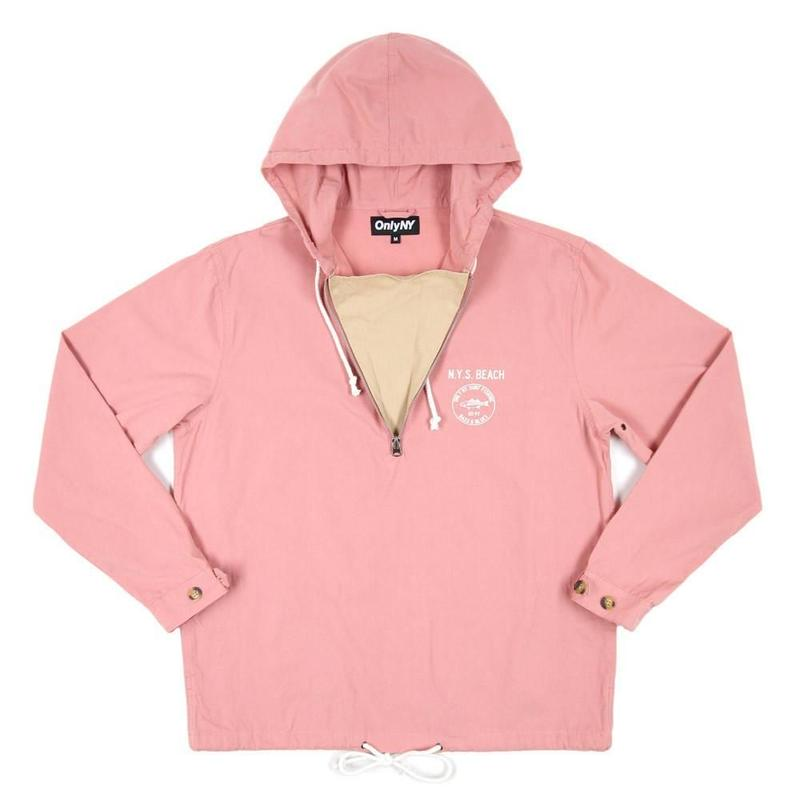Only NY / Dunes Cotton Pullover (Salmon)