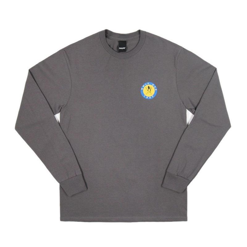 Only NY / Ski USA L/S T-Shirt (Chacoal)