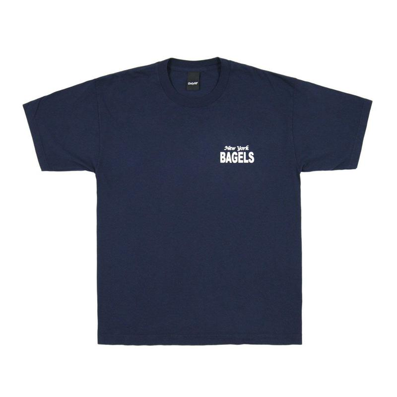 Only NY /  Newyork Bagles T-shirt (Navy)