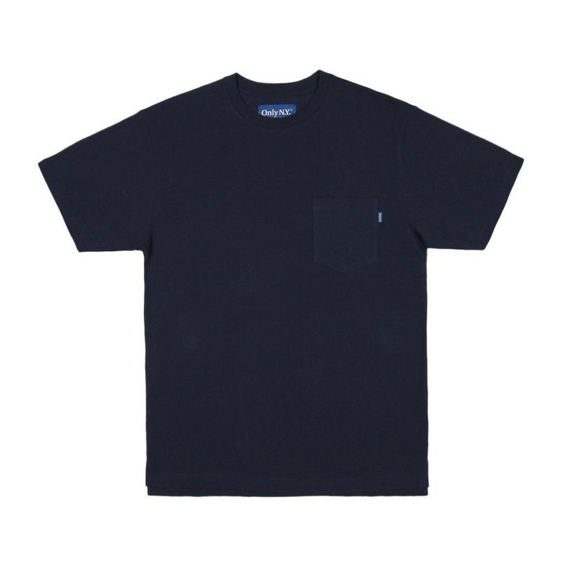 Only NY / Premium Cotton Pique T-Shirt (Navy)
