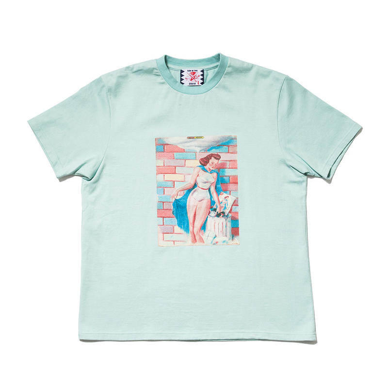 SON OF THE CHEESE / Success Moderne TEE(L.GREEN)