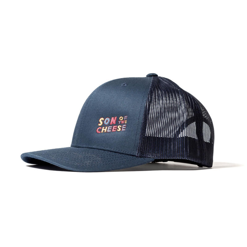SON OF THE CHEESE / wavy SOTC MESH CAP(NAVY)