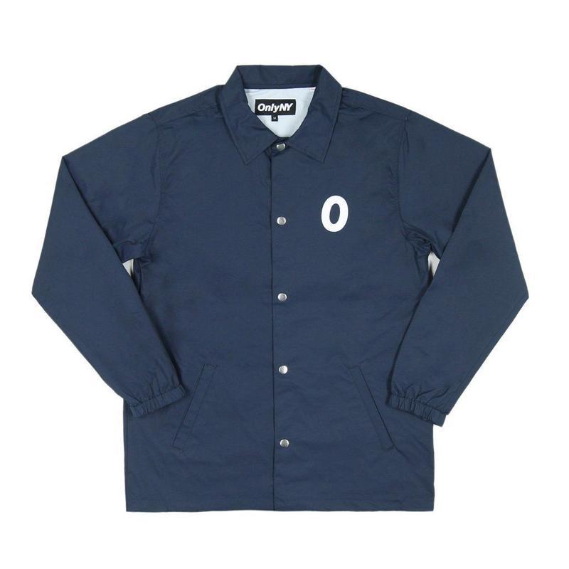 Only NY / Derby Coach Jacket (Navy)