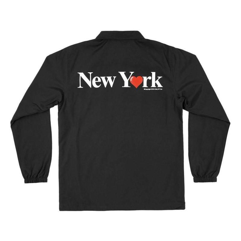 Only NY / NY LOVE COACH JKT (BLACK)