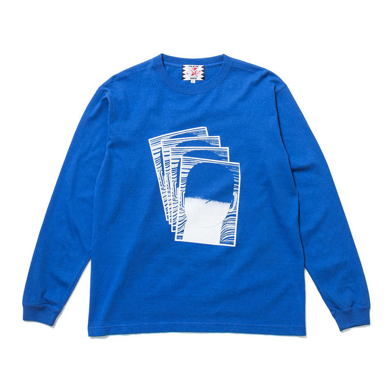 SON OF THE CHEESE / Face commu sleeve (BLUE)