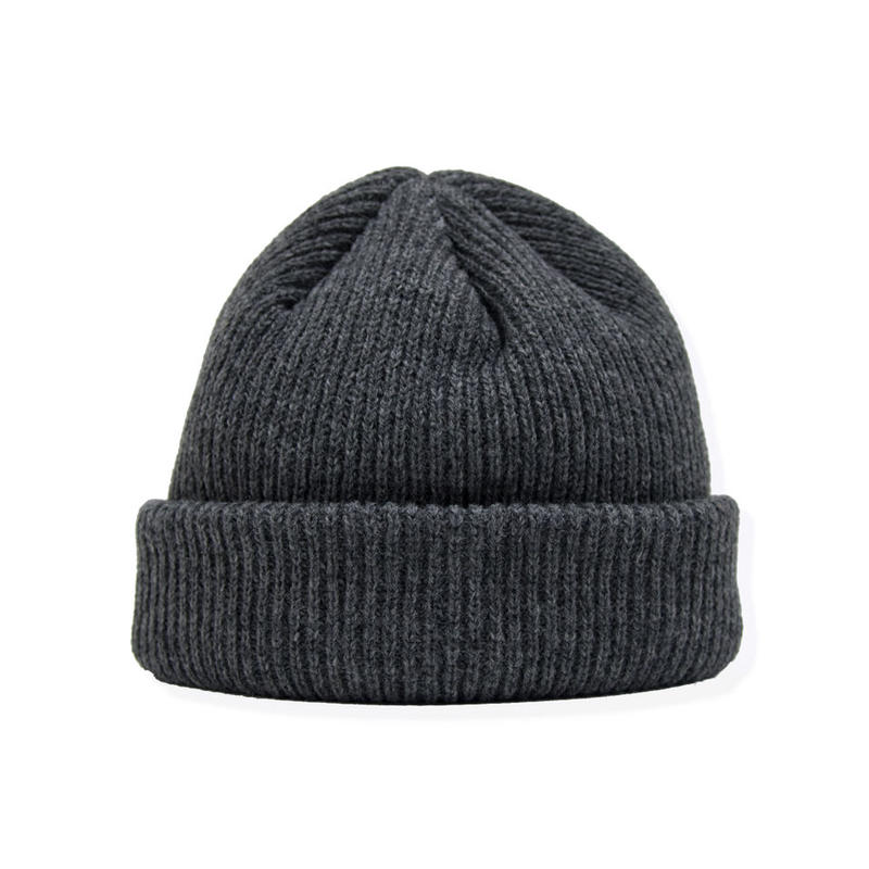 SON OF THE CHEESE / Cash knit cap (GRAY)