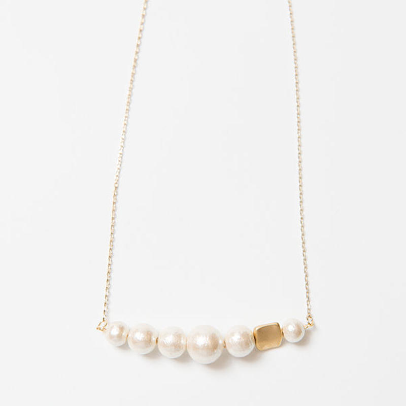 Cotton Pearl ネックレス