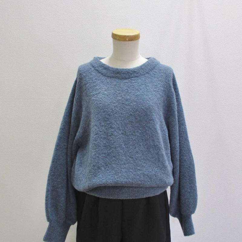 "doux bleu Itary yarn ""MOUSSE""プルオーバー"
