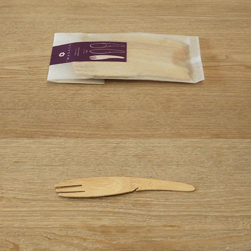 竹製フォーク 12本入