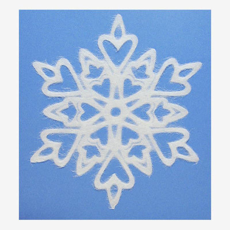 SNOWFLAKE #204 Love (L-size)