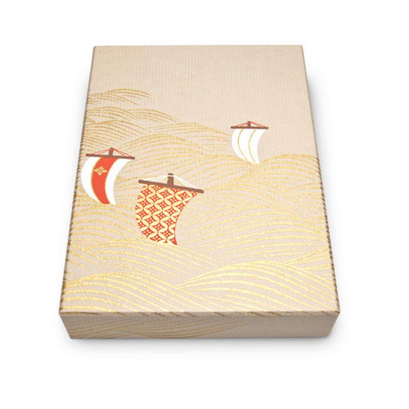 オリジナル文箱 帆掛け舟