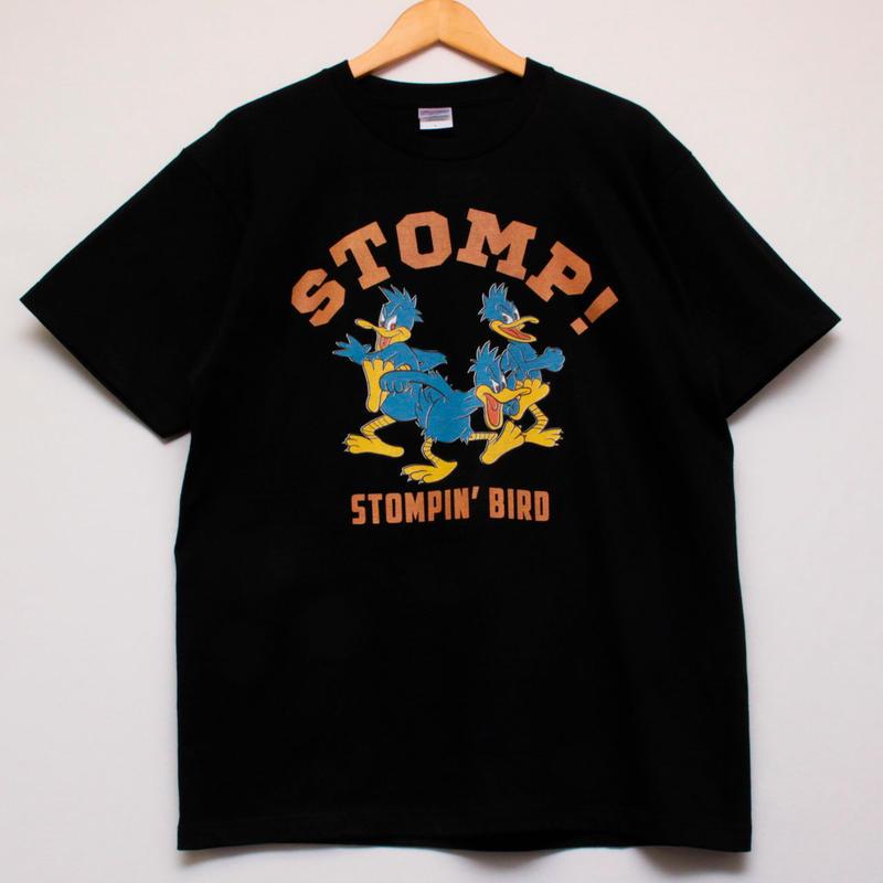STOMP! Tシャツ (黒)
