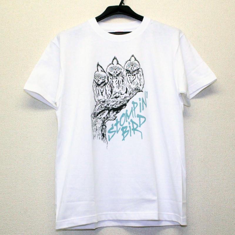 3 OWLS Tシャツ (白)