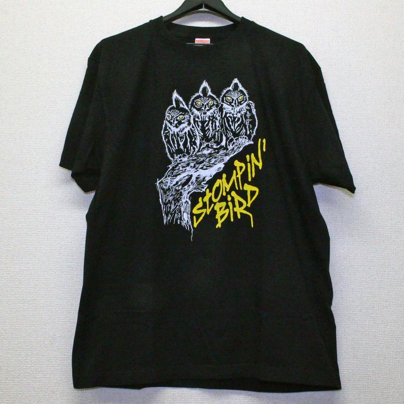 3 OWLS Tシャツ (黒)